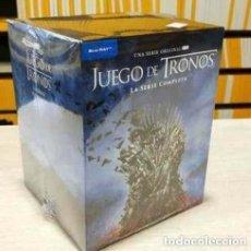 Series de TV: JUEGO DE TRONOS 1º EDICION ESTUCHE CARTON DURO RELIEVE LA SERIE COMPLETA BLU-RAY PRECINTADO. Lote 252751010