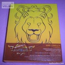 Series de TV: SAINT SEIYA LOS CABALLEROS DEL ZODIACO SOUL OF GOLD SERIE COMPLETA BLU-RAY PACK NUEVO Y PRECINTADO. Lote 252798565