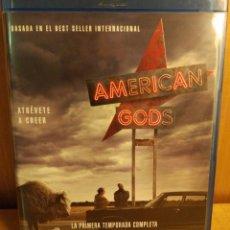 Series de TV: AMERICAN GODS. 1A. TEMPORADA. 4 DISCOS. Lote 253017245