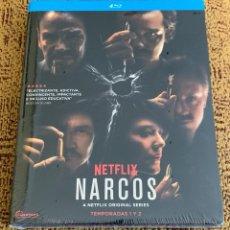 Series de TV: NARCOS TEMPORADAS 1 Y 2 BLU RAY NETFLIX PACK PRECINTADO. Lote 253285415