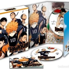 Series de TV: HAIKYUU!! (LOS ASES DEL VOLEY) - 1ª TEMPORADA - 2ª PARTE (BLU-RAY). Lote 254247705