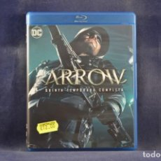 Series de TV: ARROW - QUINTA TEMPORADA COMPLETA - 4 BLU RAY. Lote 254338995