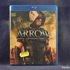 Series de TV: ARROW - CUARTA TEMPORADA COMPLETA - 4 BLU RAY. Lote 254339220