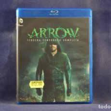 Series de TV: ARROW - TERCERA TEMPORADA COMPLETA - 4 BLU RAY. Lote 254339475