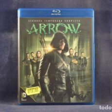 Series de TV: ARROW - SEGUNDA TEMPORADA COMPLETA - 4 BLU RAY. Lote 254339750
