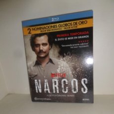 Series de TV: NARCOS 1ª TEMPORADA - 2 BLU-RAY / 2 BLURAY - DISPONGO DE MAS BLU-RAYS. Lote 254894400