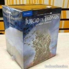 Series de TV: JUEGO DE TRONOS 1º EDICION ESTUCHE CARTON DURO RELIEVE LA SERIE COMPLETA BLU-RAY PRECINTADO. Lote 261718220