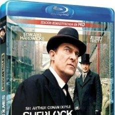 Series de TV: SHERLOCK HOLMES - LARGOMETRAJES (BLU-RAY). Lote 267789059