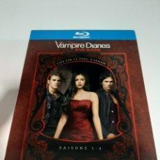 Series de TV: BRS103 VAMPIRE DIARIES SAISONS 1-4-BLURAY SEGUNDA MANO. Lote 267907369