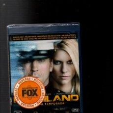 Series de TV: HOMELAND. PRIMERA TEMPORADA. CONTIENE 3 DISCOS. BLU-RAY DISC. 795 MINUTOS. 12 EPISODIOS..... Lote 270592083