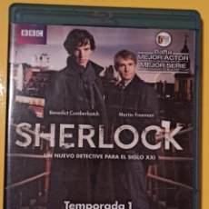 Series de TV: SHERLOCK TEMPORADA 1.. Lote 270859793
