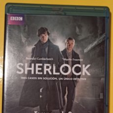 Series de TV: SHERLOCK TEMPORADA 2.. Lote 270860043