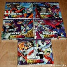 Series de TV: GREAT MAZINGER LA COLECCION COMPLETA BOX 1-5 NUEVO PRECINTADO 10 BLU-RAY ANIMACION (SIN ABRIR) R2. Lote 275254833