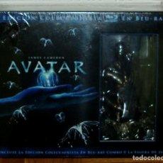 Series de TV: AVATAR EDICION COLECCIONISTA 3 BLU-RAY+2 DVD+FIGURA NUEVO PRECINTADO (SIN ABRIR). Lote 275274328