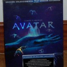 Series de TV: AVATAR EDICION COLECCIONITA EXTENDIDA 3 BLU-RAY NUEVO PRECINTADO (SIN ABRIR) R2. Lote 275274858