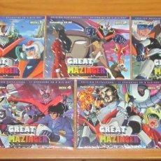 Series de TV: GREAT GRAN MAZINGER Z BOX 1 2 3 4 5 SERIE COMPLETA 56 EPISODIOS 10 DISCOS BLU-RAY NUEVO PRECINTADO. Lote 275337468