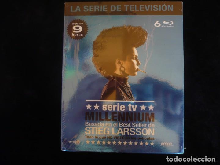SERIE MILLENNIUM - LA SERIE COMPLETA EN 6 DISCOS - NUEVA PRECINTADA (Series TV en Blu -Ray )
