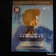 Series de TV: SERIE MILLENNIUM - LA SERIE COMPLETA EN 6 DISCOS - NUEVA PRECINTADA. Lote 276674783