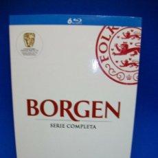 Series de TV: BORGEN SERIE COMPLETA EN BLU-RAY DISC. Lote 276820413
