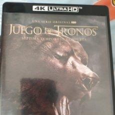 Series de TV: BLU-RAY 4K JUEGO DE TRONOS. Lote 277757793
