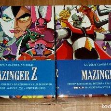 Series de TV: MAZINGER Z SERIE ORIGINAL SERIE COMPLETA BOX.1-2 NUEVO 16 BLU-RAY+2 LIBRO 92 EPISODIOS (SIN ABRIR). Lote 278381583