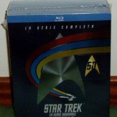 Series de TV: STAR TREK LAS SERIES ORIGINALES 1-3 TEMP. COMPLETAS 22 BLU RAY NUEVO ESPAÑOL (SIN ABRIR) R2. Lote 278626743