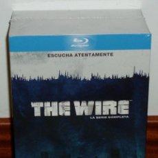 Series de TV: THE WIRE BAJO ESCUCHA SERIE COMPLETA 1-5 TEMPORADA 20 BLU-RAY NUEVO PRECINTADO (SIN ABRIR) R2. Lote 278628033