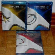 Series de TV: STAR TREK LAS SERIES ORIGINALES 1-3 TEMP. COMPLETAS 22 BLU RAY NUEVO ESPAÑOL (SIN ABRIR) R2. Lote 278761413
