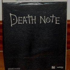 Series de TV: DEATH NOTE TRILOGIA COMPLETA 4 BLU-RAY+LIBRO+4 HORAS DE EXTRAS NUEVO PRECINTADO (SIN ABRIR) R2. Lote 278963988