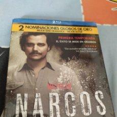 Series de TV: BLU-RAY NARCOS PRIMERA TEMPORADA. Lote 279446293