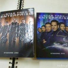 Series de TV: STAR TREK ENTERPRISE - TEMPORADA 1 Y 2 - BLU RAY -EDICION ITALIANA CON IDEIMA CASTELLANO - N 2. Lote 286347118