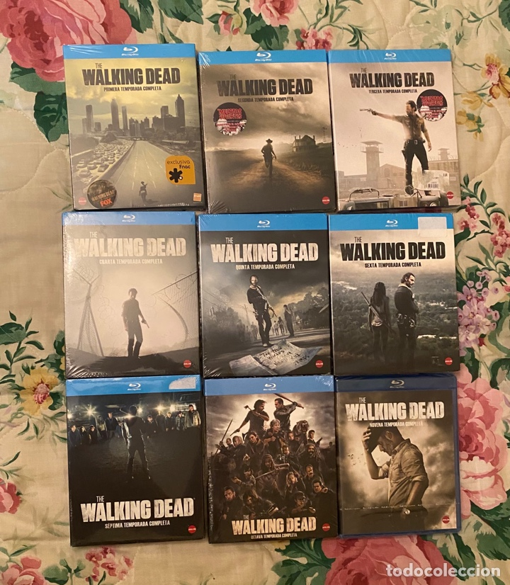 THE WALKING DEAD TEMPORADAS 1 AL 9 BLURAYS PRECINTADOS (Series TV en Blu -Ray )