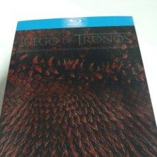 Series de TV: BRS103 JUEGO DE TRONOS LAS 4 PRIMERAS TEMPORADAS-BLURAY SEGUNDA MANO. Lote 295020273