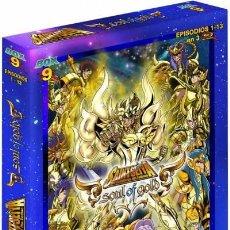 Series de TV: SAINT SEIYA SOUL OF GOLD BOX 9 (BLU-RAY). Lote 296604603