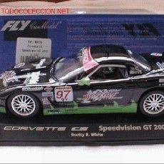 Slot Cars: FLY A541 CORVETTE C5 SPEEDVISION. Lote 7896241