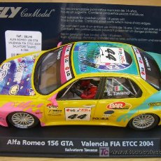 Slot Cars: FLY A784 ALFA ROMEO 156 GTA VALENCIA FIA 2004 . Lote 7246246