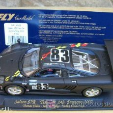 Slot Cars: FLY E261 SALEEN S7R TEST CAR 24H DAYTONA 2002. Lote 22990471