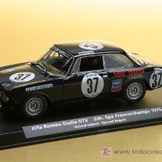 Slot Cars: A-804 - ALFA ROMEO GIULIA DE FLY. Lote 142082948