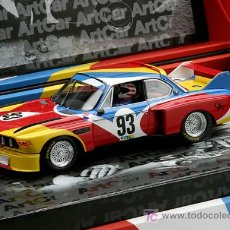 Slot Cars: BMW CSL- 1º ART CAR DE FLY. Lote 147569698