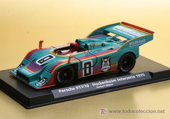 PORSCHE 917/10 VAILLANT DE FLY (Juguetes - Slot Cars - Fly)