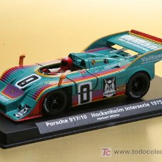 Slot Cars: PORSCHE 917/10 VAILLANT DE FLY. Lote 190152681