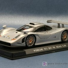 Slot Cars: E-71. EL PORSCHE 911 GT1 98 ROAD CAR DE FLY. Lote 261837660
