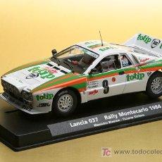 Slot Cars: A-992. LANCIA 037 TOTIP DEL RALLY MONTECARLO 1984 DE FLY. Lote 144679481