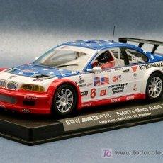 Slot Cars: A-283. BMW M3 GTR YOKOHAMA AZUL DE FLY. Lote 94096735