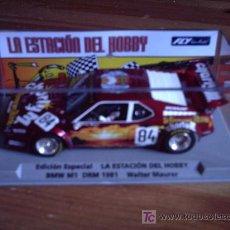 Slot Cars: BMW M1 EDICION ESPECIAL LA ESTACION DEL HOBBY DE FLY. Lote 142638758