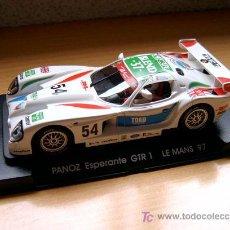 Slot Cars: FORD PANOZ ESPERANTE GTR1 LE MANS 97 Nº54 REF A-61 (FLY) DESCATALOGADO!. Lote 36404776