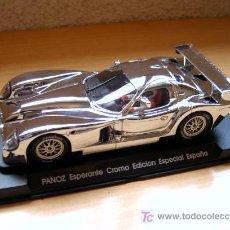 Slot Cars: FORD PANOZ CROMO EDICIÓN ESPECIAL ESPAÑA REF E-61 (FLY) DESCATALOGADO!. Lote 26431146