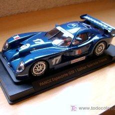 Slot Cars: FORD PANOZ GTR-1 EDICIÓN ESPECIAL FRANCIA REF E-63 (FLY) DESCATALOGADO!. Lote 27112426