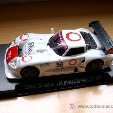 Slot Cars: MARCOS 600 LM BRANDS HATCH REF A-23 (FLY) DESCATALOGADO!. Lote 27112435