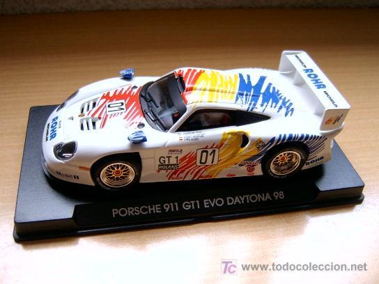 PORSCHE 911 GT1 EVO DAYTONA 98 ROHR REF-A52 (FLY) DESCATALOGADO! (Juguetes - Slot Cars - Fly)